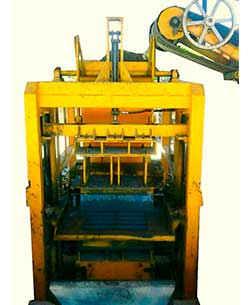 Máquina Bloquera Hidráulica HD-624