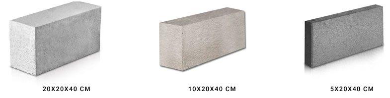 Medidas Ladrillos de Cemento